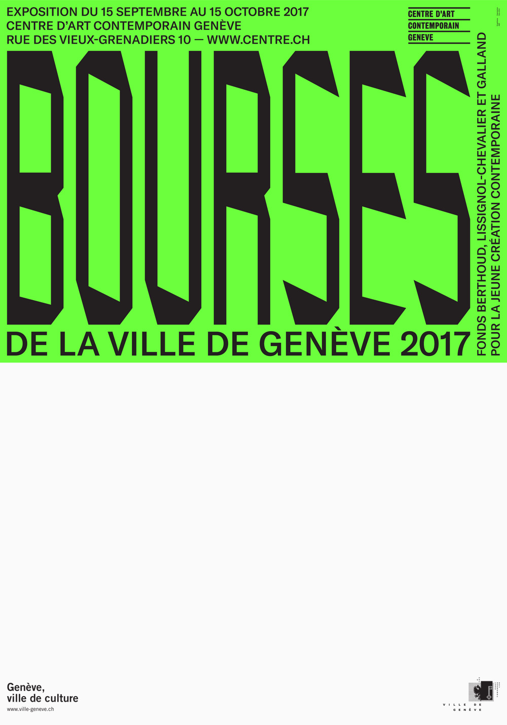 Bourses de la Ville de Genève lissignol chevalier galland